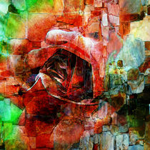 abstracted rose by ursfoto