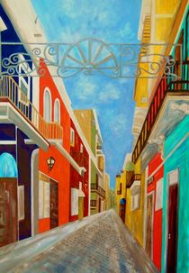 Old San Juan by eloiseart