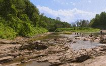Ottauquechee River Rocky Flats von John Bailey