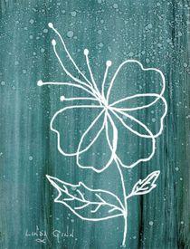 White Flower von Linda Ginn