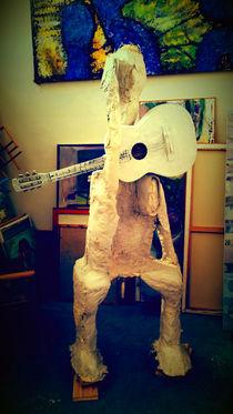 Der Gitarrenspieler by Reiner Poser