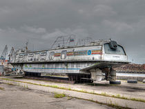 Altes Luftkissenboot Kaliningrad by Markus Dick