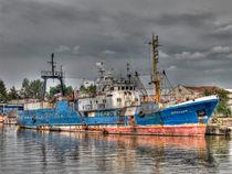 Altes Fischerboot Kaliningrad by Markus Dick