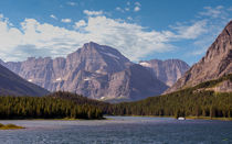 Mount Gould At Glacier National Park by John Bailey