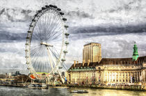 The London Eye Art by David Pyatt