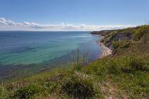 Steilküste von Simone Jahnke