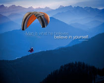 Believe in Yourself von Edmund Nagele F.R.P.S.