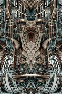 'Abstract futuristic building' von Steve Ball