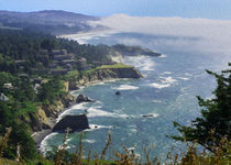 Rugged Oregon Coast von John Bailey
