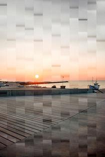 Sonnenuntergang am Meer von fraenks