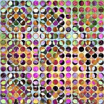 MELANGE OF CIRCLES-4 von Pia Schneider