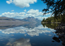 Lake Mcdonald Reflections by John Bailey