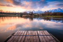 Štrbský rybník by Zoltan Duray