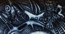Tribute to HR Giger by Dora Vukicevic