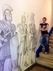 Me and my Roman Legionaries von Dora Vukicevic