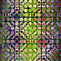 MELANGE OF CIRCLES-5 by Pia Schneider
