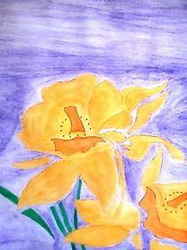 Sunny flowers by nellyart