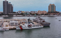 U.S. Coast Guard at Miami by John Bailey
