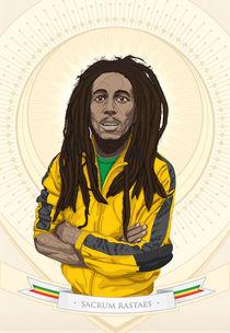 Bob Marley Sacrum Rastaes von Benjamín Morales Lugo