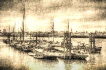 River Thames Boat Community by David Pyatt