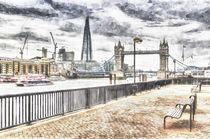 River Thames View von David Pyatt