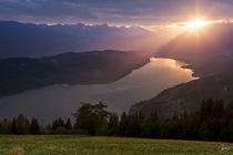 Millstättter See, Sonnenuntergang by ndsh