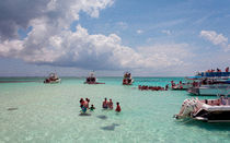 Stingray City Grand Cayman von John Bailey