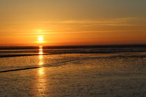 Sonnenuntergang  Nordstrand von © Ivonne Wentzler
