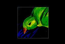 kleines grünes Vögelchen by sarah-strobl