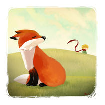 The fox and the little prince von Viviane Fujita
