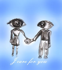 I care for you by artsy