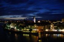 Friedrichshafen bei Nacht von Manuel Schäfer