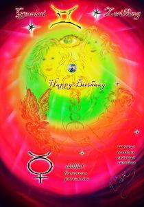 Sternzeichen Gemini von Walter Zettl