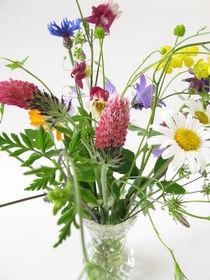 Strauß mit Wildblumen by Heike Rau