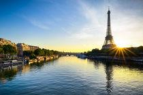 Paris Sunrise von Michael Abid