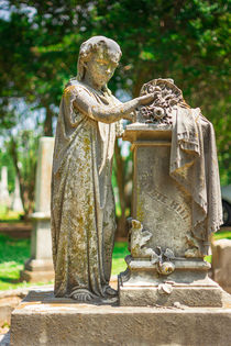 Memphis Elmwood Cemetery Monument - Cassie Hill by Jon Woodhams