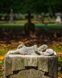Memphis Elmwood Cemetery Monument - Adelma by Jon Woodhams