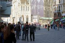 Stephansplatz Wien  von Bastian  Kienitz