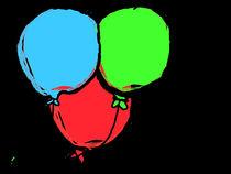 Birthday Balloons von Dakota Brown