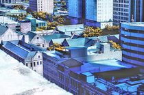 Downtown Houston Rooftops von Dan Richards