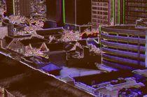 Houston In Neon von Dan Richards