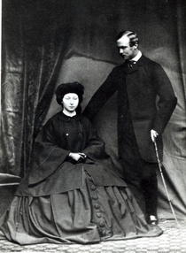 Princess Alice and Prince Ludwig of Hesse von Bridgeman Art