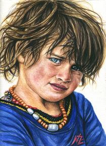 Bukarest Street Boy von Nicole Zeug