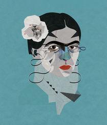Frida Blue by Zaneta Antosik