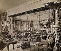 The Drawing Room, Wickham Hall, Kent, 1897 von Bridgeman Art