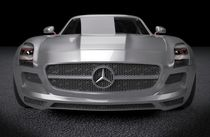 Mercedes SLS AMG sports car by Nikola Novak