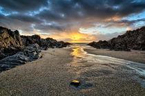 Barricane Beach, Woolacombe, North Devon. by Dave Wilkinson