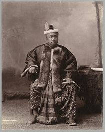 Burmese magistrate, late 19th century von Bridgeman Art