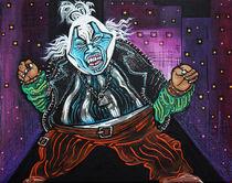 Blue Faced Clown von Laura Barbosa