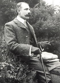 Sir Edward Elgar 1857-1934 von Bridgeman Art